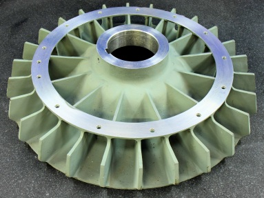 LM25TF Machined Fan Casting